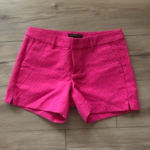 Pink banana republic shorts
